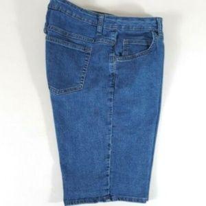 Lee Shorts - Riders by Lee Women's Bermuda Jean Shorts Size 12M